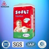 Couches-culottes sèches de coton de bébé matériel neuf de pulpe remplaçables dans Quanzhou