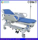 Medizinisches Instrument-Edelstahl-Krankenhaus kaufen flache Transport-Laufkatze-Bahre