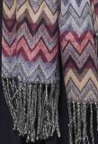 bufanda del telar jacquar 100%Acrylic para las mujeres