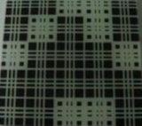 3-6m m helaron el vidrio decorativo de la impresión de la pantalla de seda