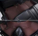 (De BRUINE) Matten van de Vloer van de Auto van de Diamant van de premie 5D - de Sport van de Landrover