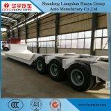 de Semi Aanhangwagen van het laag-Bed 2axle/3axle/4axle/5axle voor Op zwaar werk berekende Vervoer van de Machine