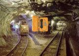 Teléfono, teléfono de túnel ferroviario de minería de oro, teléfono, teléfono de la mina de cobre