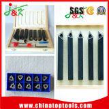 Beste CNC van de Kwaliteit het Draaien Hulpmiddelen en de Carbide Gesoldeerde Reeksen van Hulpmiddelen