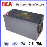 良質12V 160ah UPS電池AGMの深いサイクル電池の太陽電池のセル