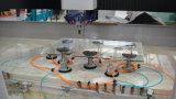 Centro de trituração da afiação do funcionamento de vidro do CNC