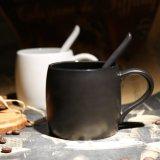 tazza variopinta di ceramica promozionale del latte della porcellana della tazza di caffè del regalo 14oz