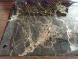 Film de marbre de PVC de grain pour l'emballage de mur