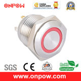Onpow 16mm Metal Push Button Switch (GQ16 SERIESのセリウム、CCC、RoHS)