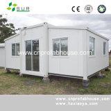 Стандартная передвижная полуфабрикат дом контейнера для жить