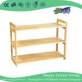 Simple de la escuela de la partición de madera rústica repisa (HG-4206)
