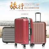 アルミニウムトロリー荷物ABS+PCの荷物一定旅行袋