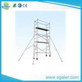 Usa andamio móvil de aluminio andamios Escaleras de aluminio