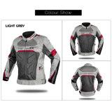 Mens Vários 2 no 1 andar de moto jaqueta com marcação CE jaqueta de moto de Verão
