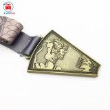 古代中国様式の金属のファン整形メダルメーカー
