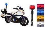 Senken 27W 650~1040mm indicatore luminoso posteriore del motociclo di 4 colori LED