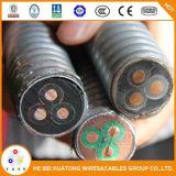 3 conducteurs en cuivre EPDM Isolation de base de plomb submersible de gaine de câble de la pompe à huile esp Qypn plates ou rondes, Qyen Qypny Qypny,,,,, Qyyeq Qyeey Qyee, Qyjeq Qyyeey,