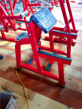 El uso comercial de la máquina de gimnasia asentado el brazo curl