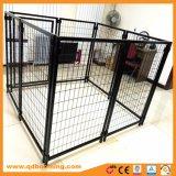 Schwarzes Schweißungs-Maschendraht-Hundegehäuse