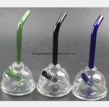 Blaues, grünes, schwarzes rauchendes Wasser-Glasrohr Wiederverwertung der Station