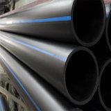 De HDPE tubos PE do tubo de alimentação de água subterrânea do tubo de HDPE