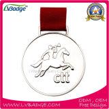 Медали сплава цинка изготовленный на заказ с печатание тесемки ваш собственный логос