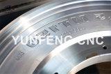 Maquinaria del deletreado del flanco del molde del neumático del CNC de 4 ejes para la venta