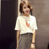 Hot-Selling Women's T-Shirt Short Sleeve fabriqués en Chine