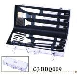 Insieme del barbecue, accessori dell'acciaio inossidabile dello strumento della griglia del BBQ delle 6 parti