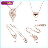 De Directe Verkoop van de fabriek Halsband van de Tegenhanger van het Hart van de Juwelen van 18 K de Gouden