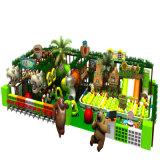 Campo de jogos interno para miúdos com Platics saudável