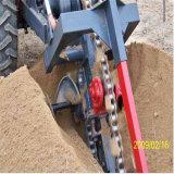 L'exportation d'usine Grande ou Petite boîte de vitesses de la trancheuse de chaîne de la machine