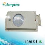 Novo 6watt All in One Solar LED Street Light LED Garden Park Lamp Frete Grátis
