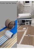Decking sintético composto plástico de madeira do barco do Teak de Aquland Felxible/revestimento composto de madeira do barco