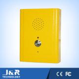 Sistema de entrada da porta de montagem embutida, telefone de chamada rápida, telefone Push-to-Talk