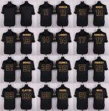 Дешевые мужские детей женщин малышей Майами Паркер Боб Griese дан-Марино Джарвис Landry черное золото американского футбола футболках Nikeid Custom любое имя цифры