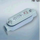 Gussaluminium-explosionssicheres Kabel-überschreitener Kasten
