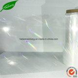 Flocon de neige BOPP Film holographique transparent 15 Mic