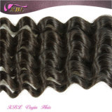 Индийский глубокую волны в полной мере Cuticle волос естественный цвет индийского дешевые волос человека