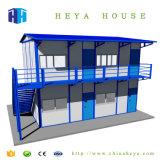 Geschichte der Stahlkonstruktion-zwei, die niedrige Kosten-Fertighaus-Haus aufbaut