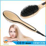 2018 nueva plancha de pelo profesional eléctrico cepillo cepillo de pelo