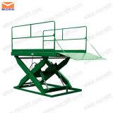 Levage de dock de ciseaux pour le chariot élévateur ou le camion