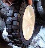 7 polegadas vazio e semi-inflável de borracha da Roda do Compressor de ar pneumática