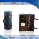 Caixa De Armazenamento De Vinho Dobrável De Garrafa Dual De Garrafa (5882)