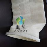 Nontissé estimé de l'aiguille de la poussière de l'aramide Sac filtre/manchon de filtre pour filtre à manches