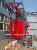 Hakenförmiger hängender Granaliengebläse-Maschinen-Rost, der Maschine entfernt