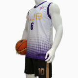 Healongの上のブランドのスポーツ・ウェアの昇華印刷の可逆バスケットボールジャージー