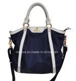 암소 가죽 핸드백 또는 운반물 핸드백 (BS8545)를 가진 OEM 직물