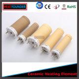 Riscaldatore di ceramica personalizzato della cartuccia dell'allumina 95 per aria calda