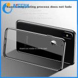 iPhone X Luxus überzogener TPU transparenter ultra dünner Silikon-Deckel für iPhone 7 6 6s 8 8plus